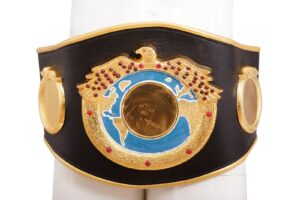 Competition Leather Boxing Belts