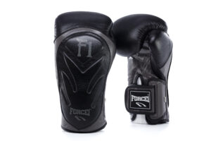 Velcro Leather Boxing Gloves